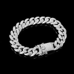 Luxury Silver Cuban Link Bracelet
